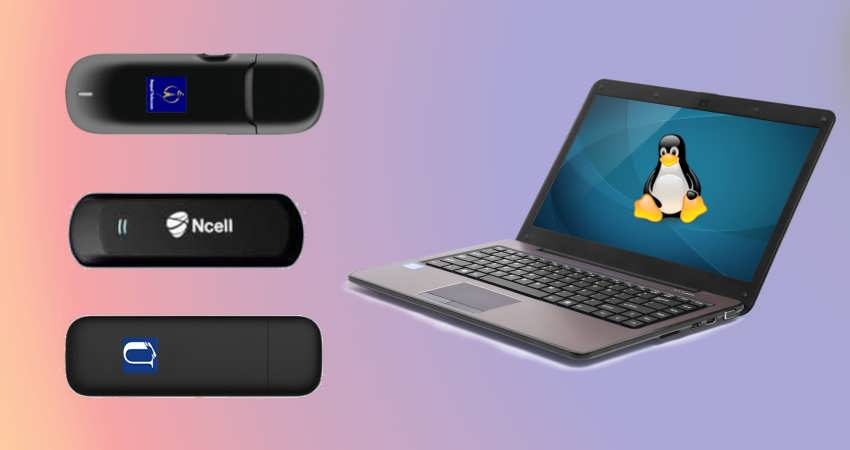 How to setup SkyPro/EVDO, NCELL Connect, UTL Modem/USB Dongle in Linux?