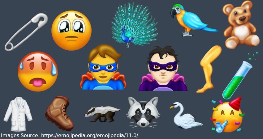 62 New Emojis Arrive Including Superhero and Supervillain