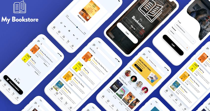 40 Bookstore App UI Designs For Inspiration
